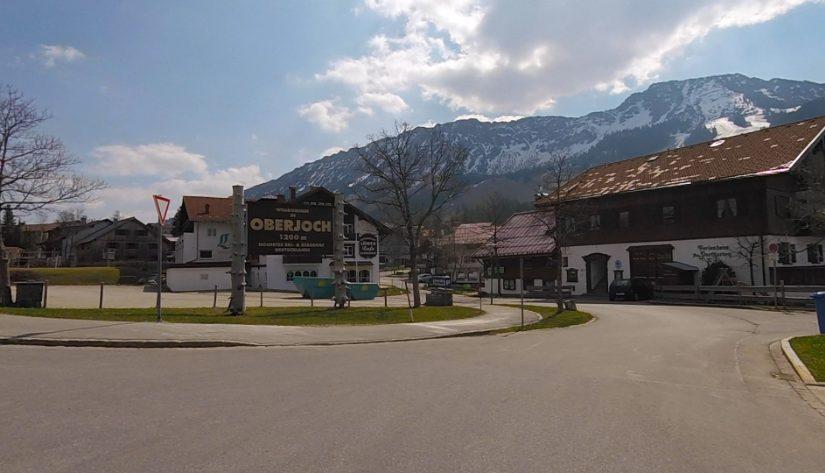 Oberjoch on Ostern