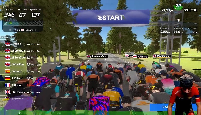 RGT – Friday Evening Masters Race