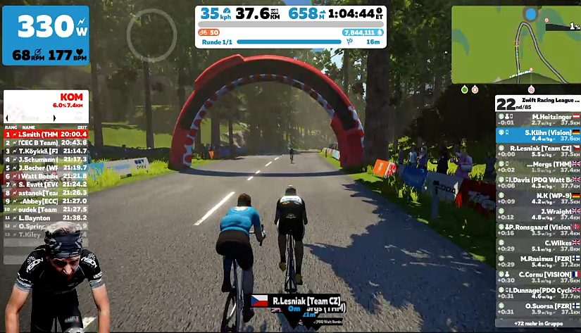Zwift Racing League Season 2 – Race 3