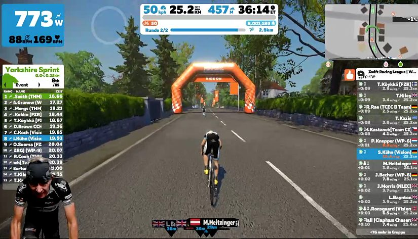 Zwift Racing League Season 2 – Race 4