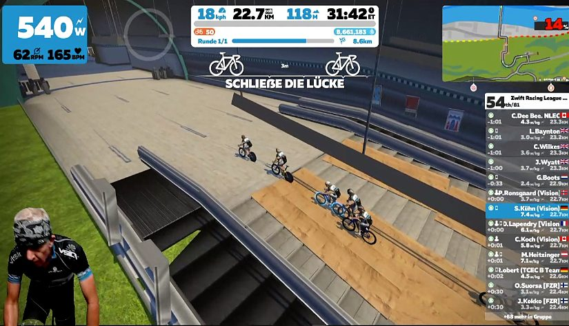 Zwift Racing League Season 2 – Race 8