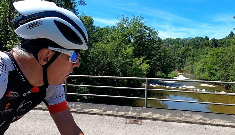Mit dem Rennrad von Kempten an den Bodensee