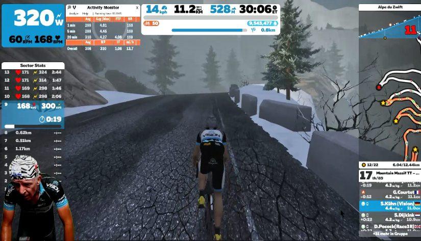 Zwift Mountain Massif TT
