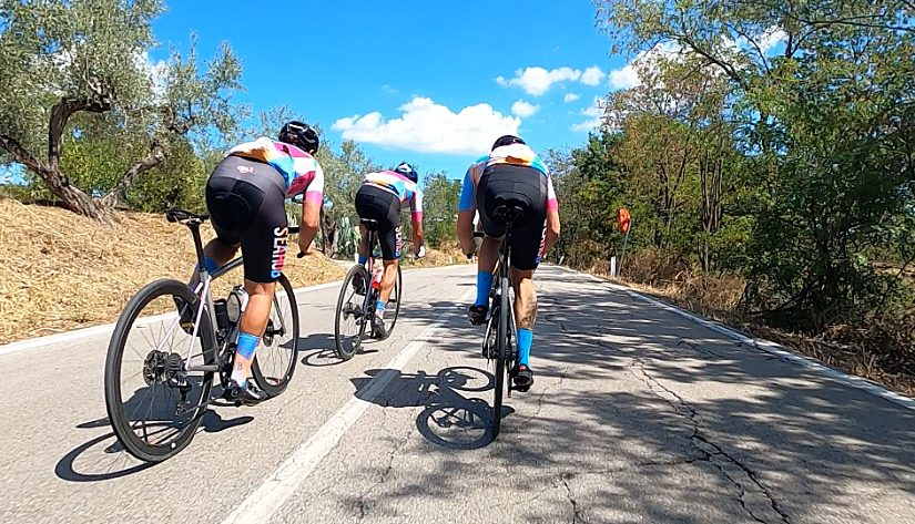 Rennradfahren in den Abruzzen